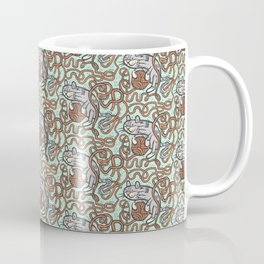 Yarnball Kitty Cat Coffee Mug