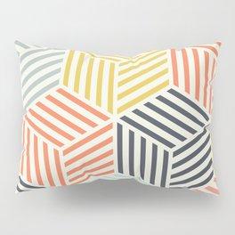 Colorful Geometric Pattern Pillow Sham