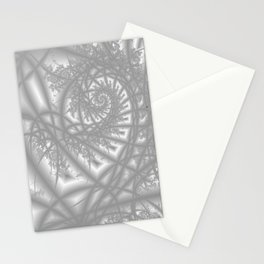 Venetian Lace In Gray Stationery Cards