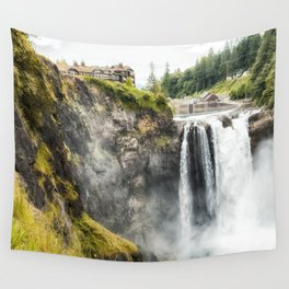 Snoqualmie Falls, Washington State Wall Tapestry