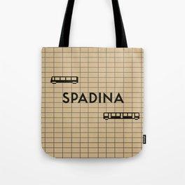 SPADINA | Subway Station Tote Bag