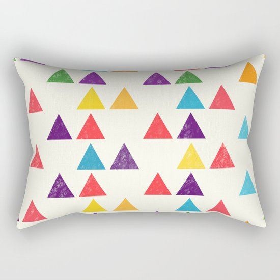 Lovely geometric Pattern XII Rectangular Pillow