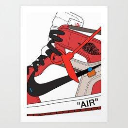 Jordan I poster Art Print