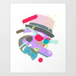 A-Lister. Art Print