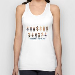 Doctor who Unisex Tank Top