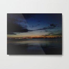 Seaside Dusk Metal Print