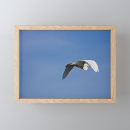 Against the Blue Framed Mini Art Print