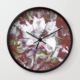 Blue Hues Wall Clock