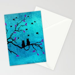 Lovecats - Together forever Stationery Cards