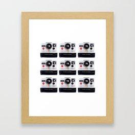 polaroidx9 Framed Art Print