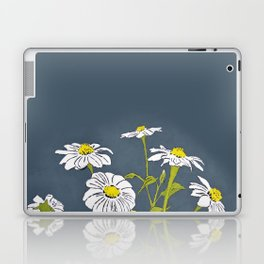 White Mexican Sunflowers Laptop & iPad Skin