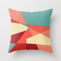 strawberry Throw Pillows featuring Strawberry by DuckyB