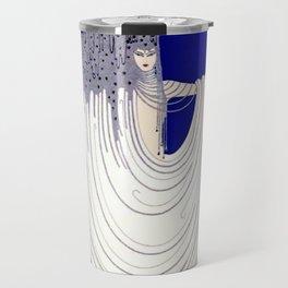 """North Sea"" Art Deco Design Travel Mug"