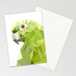 Parrot art Southern mealy amazon parrot Stationery Cards