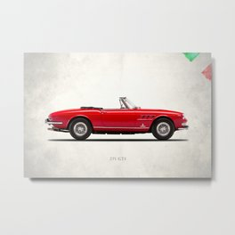 The 275 GTS Metal Print