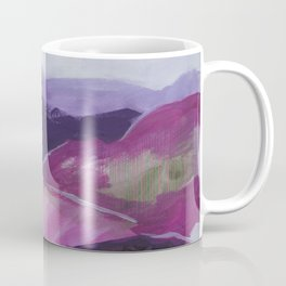 Roses Aren't Red 2 - Contemporary Abstract Landscape Coffee Mug