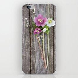 February Bouquet iPhone Skin