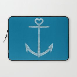Love is the anchor Laptop Sleeve