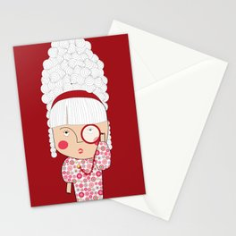 Mss Monocle Stationery Cards