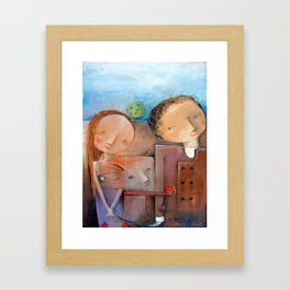 Unapproachable Framed Art Print