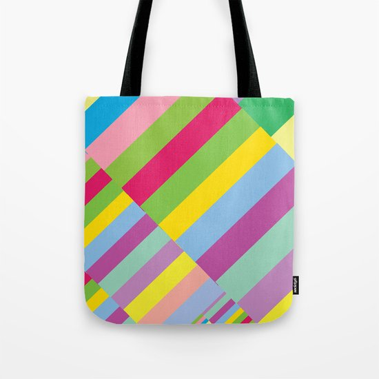 Stairs to Office  [COLORS] [COLOR] [COLORFUL]  Tote Bag