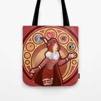 digimon Tote Bags featuring Digimon Cards: Sora  by Dralamy