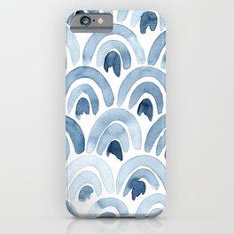 Blue Rainbows iPhone Case