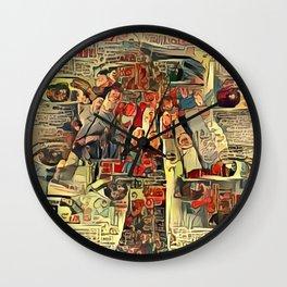 Lucid II Wall Clock