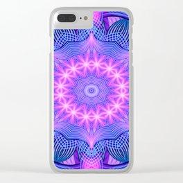 Dream Star Mandala Clear iPhone Case