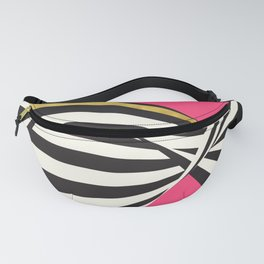 LOVE! – Wavy Stripes on Rich Pink Fanny Pack