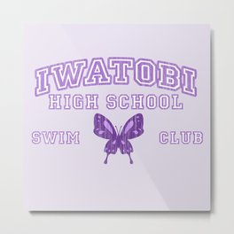 Iwatobi - Betterfly Metal Print