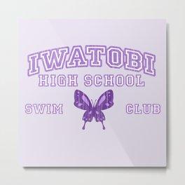 Iwatobi - Betterfly Metal Print