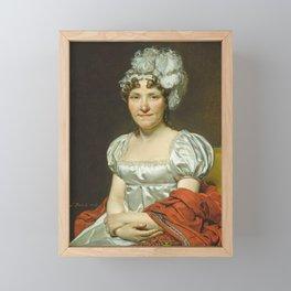 Jacques-Louis David - Madame David Framed Mini Art Print