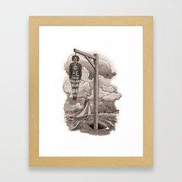 Captain Kidd Framed Art Print