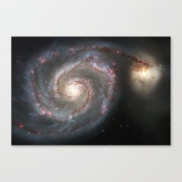 Messier 51 Canvas Print