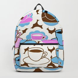 Coffee A Cup For You and A Cup For Me Backpack