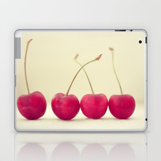 Cherry Line Laptop & iPad Skin