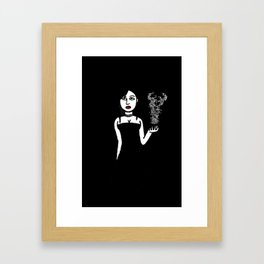 She Put a Spell on Me Framed Art Print