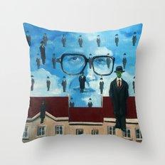 John Rawls Throw Pillow