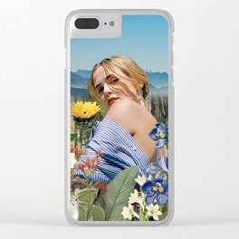 Zoey in Nature Clear iPhone Case