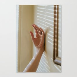 Theresa's Hand. Canvas Print