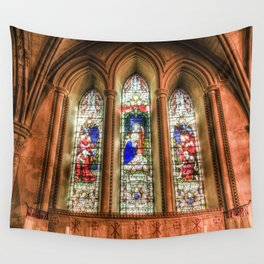 Stained Glass Windows Wall Tapestry