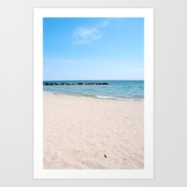 AFE Toronto Island Beach3 Art Print