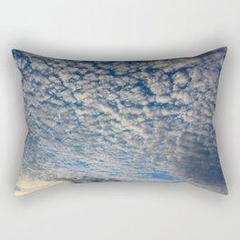 Bellingham, WA November Clouds Rectangular Pillow