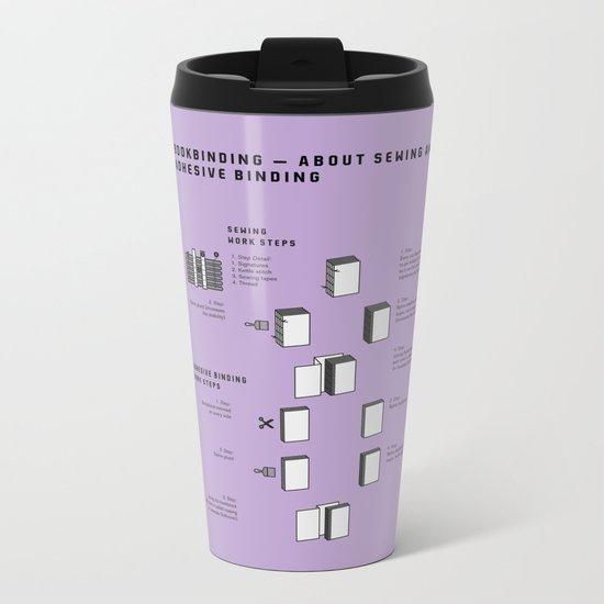 Bookbinding – About Sewing and Adhesive binding (in English) Metal Travel Mug