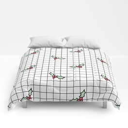 Holly Grid Comforters