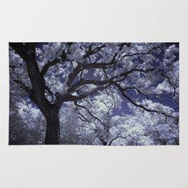 White Tree Rug