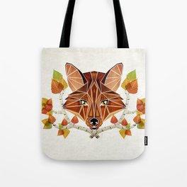 fox autumn Tote Bag
