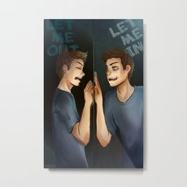 Let me out Metal Print