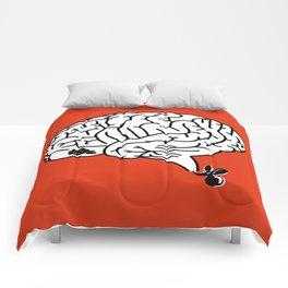Brain Labyrinth Comforters